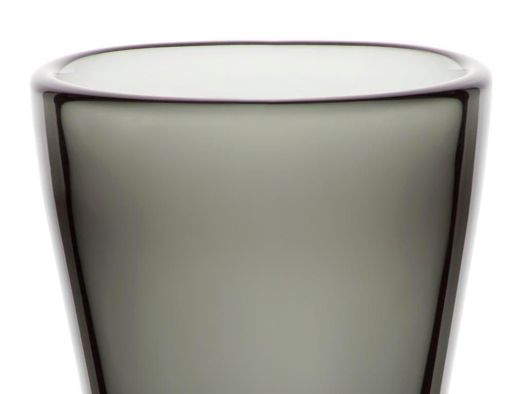 Vase Blumenvase Calla Grau H 23 Cm Glas Amara Design