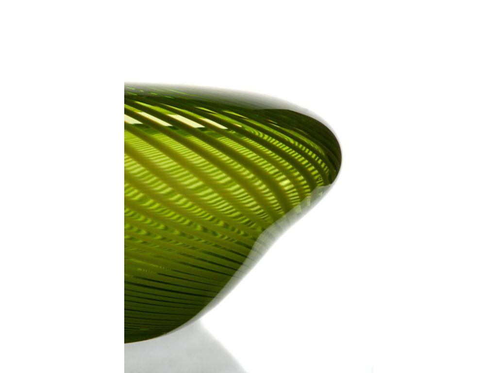 Vase Blumenvase Lily Green H 12 5cm Glas Amara Design