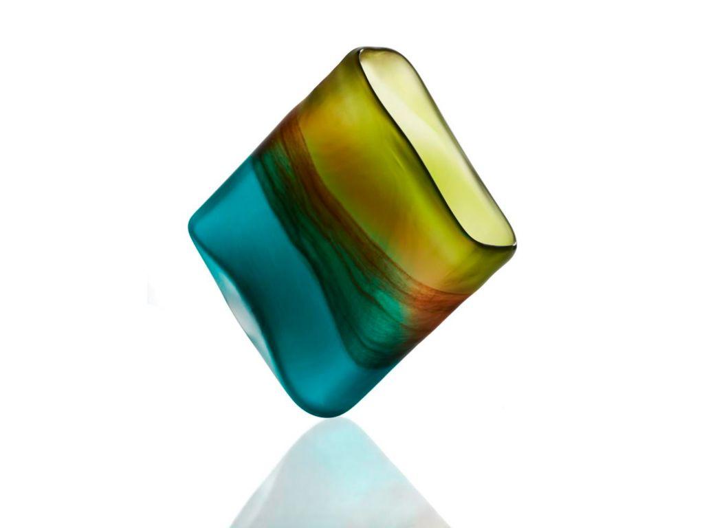 Vase Blumenvase Virginia Oval H 15 Cm Amara Design By