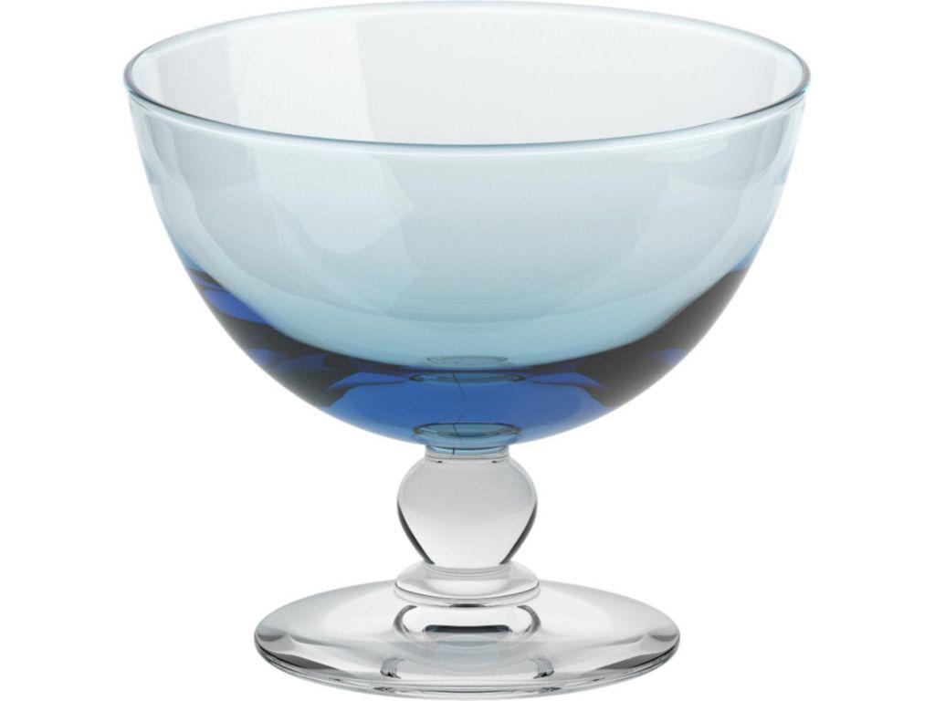6 eisgl ser eisschale eisbecher piccolo aquamarin gelato vero cristalica ebay. Black Bedroom Furniture Sets. Home Design Ideas