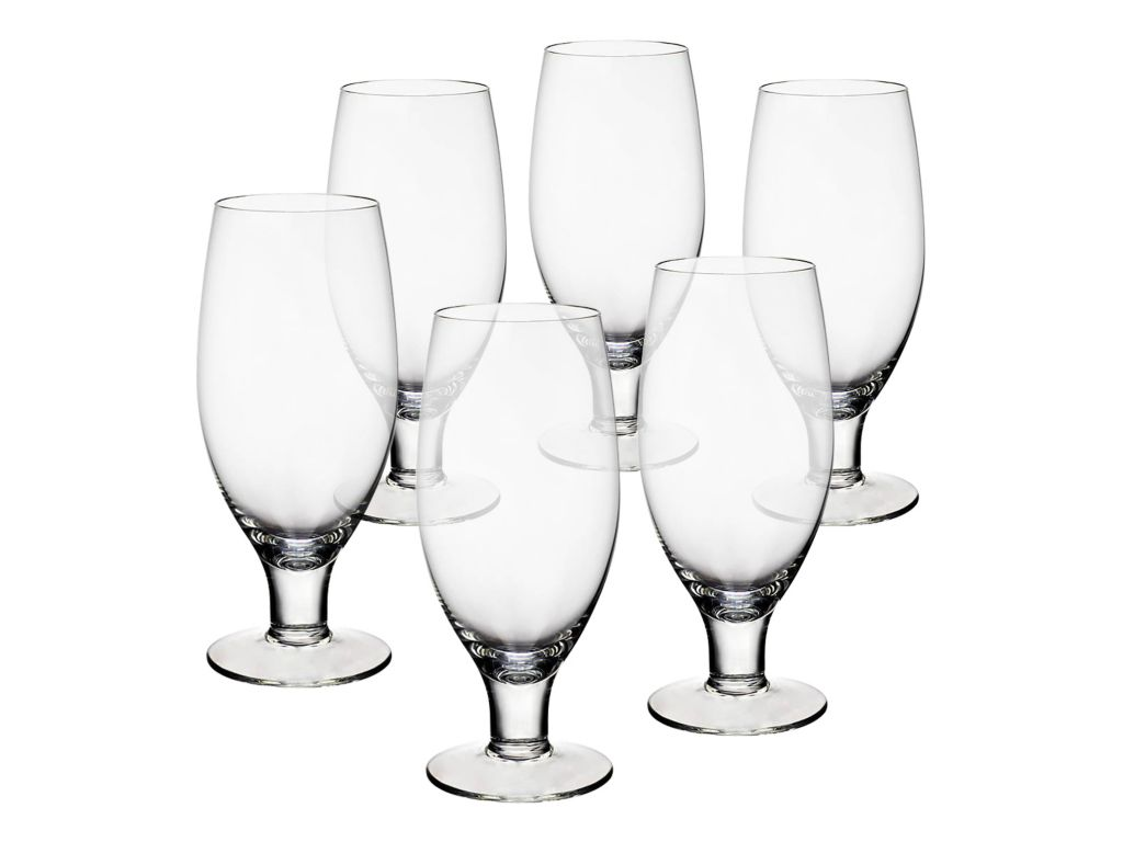 6 x bierglas biertulpe pilsglas mittweida 0 5l glas cristalica set04005 ebay. Black Bedroom Furniture Sets. Home Design Ideas